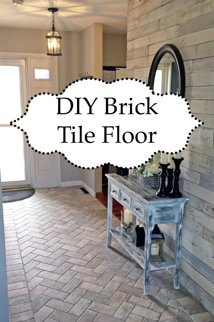 Foyer Accent Floor Chicago South Side Porcelain Brick Tile The