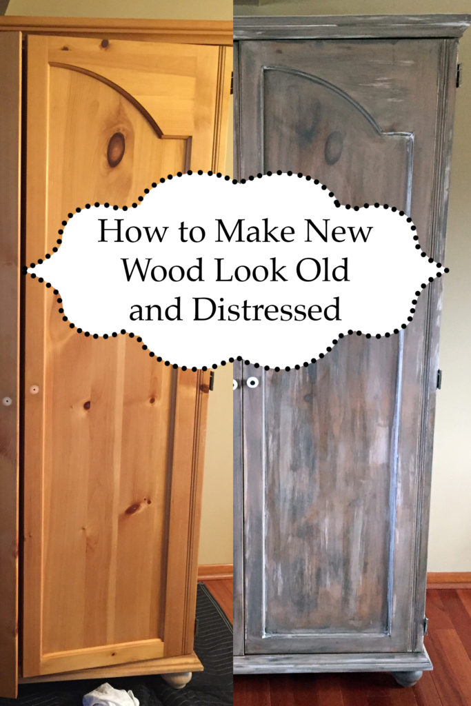 How To Make New Wood Look Old And Distressed The Kelly